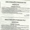 Ruglianu. Prolongement des enquêtes publiques du PLU et PZA jusqu'au 7 mai 2013