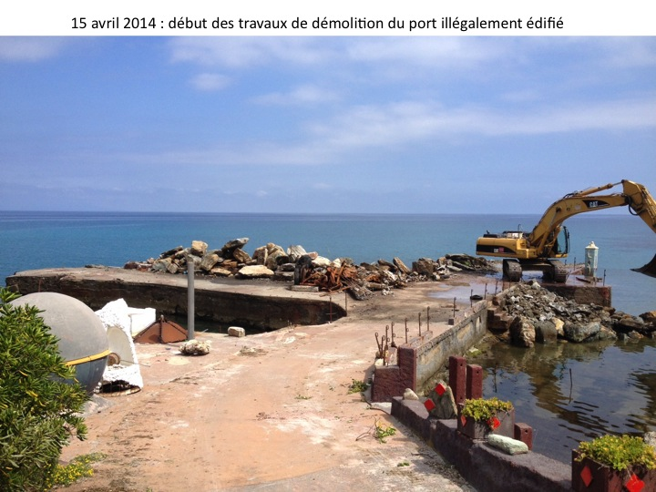 caribou demolition port