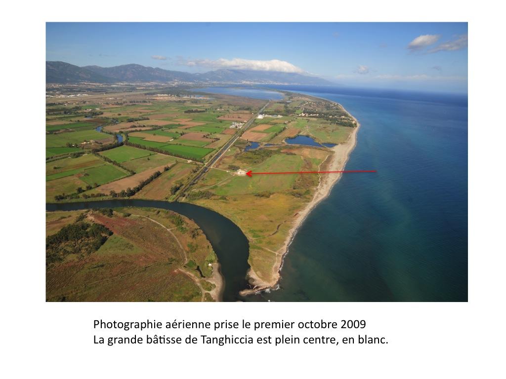 Tanghiccia, localisation