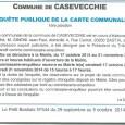 E Casevechje. Projet de carte communale. Du 17 octobre au 21 novembre 2014.