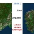 Certains disent parfois que la Corse est surprotégée … Comme en témoignel'illustration ci-dessous, les deux rectangles montrant la même surface, la superficie, en Corse, des ZNIEFF detype1(Zones Naturelles d'IntérêtÉcologiqueFaunistique et […]
