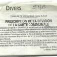 Vighjaneddu. Prescription et révision CM. Du 16 février au 16 mars 2015.