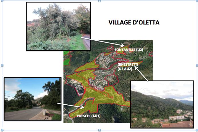 Oletta village