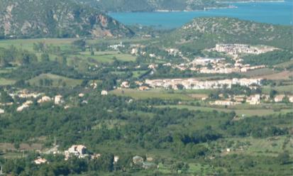 Oletta vue générale de la plaine