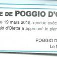 U Poghju d'Oletta. Approbation PZA. Le 11 mai 2015.