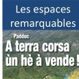 L'équipe de U Levante vous présente en vidéo (5'52) quelques unes de ses réflexions sur la gestion des Espaces Remarquables et Caractéristiques (ERC) par le Padduc.