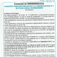 Ghisonaccia. Révision PLU. Du 08 juillet au 04 août 2015.