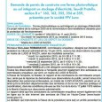 U Lucu di Nazza. Ferme photovoltaique. Du 1er septembre au 2 octobre 2015.