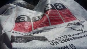 big bag contenant les dechets