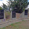 """Sur la commune de Casanova di Venacu, face aux quatre stèles du """"lieu de mémoire, espace qui accueille, honore la mémoire des sapeurs pompiers, équipages de bombardiers d'eau, militaires et […]"""