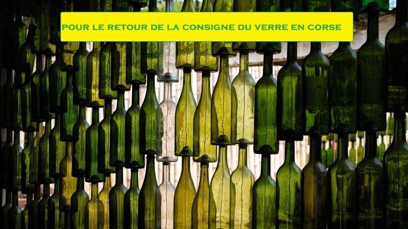 Consigne du verre en Corse