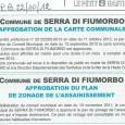 Serra di Fium'orbu. La carte communale est à affichée en mairie. Elle est à la disposition du public. À compter du 19 octobre 2012 Commune de Serra di Fium'orbu. Le […]