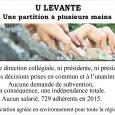 Trente ans de vie associative : quel bilan ? Voici les images exposées le 14 août,rappelantles actions principales réalisées par U Levante depuis 1986.   Actions pour la protection […]