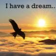 «Je vous le dis ici et maintenant, mes amis, bien que, oui, bien que nous ayons à faire face à des difficultés aujourd'hui et demain, je fais toujours ce rêve […]